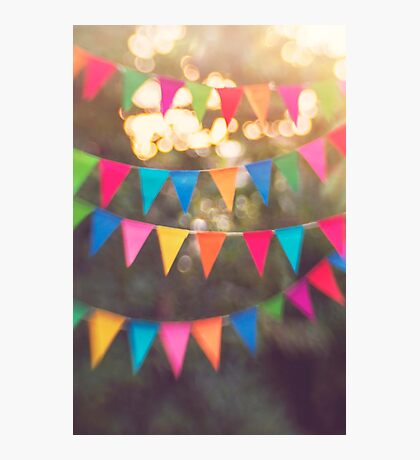 Let the celebrations begin! Photographic Print