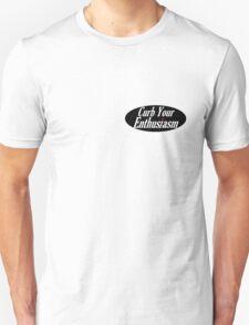 Curb Your Enthusiasm - Black Unisex T-Shirt