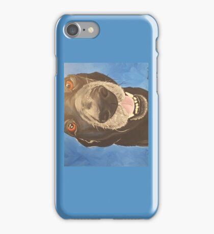 Russell the Black Lab iPhone Case/Skin