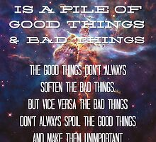 Good Things / Bad Things - Doctor Who by Denise Giffin