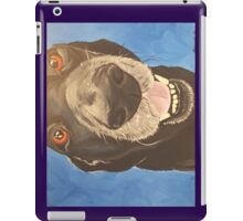 Russell the Black Lab iPad Case/Skin