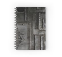 F.I.S.T.S. - Rusted and Riveted Spiral Notebook