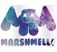 Marshmello Galaxy Poster