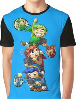 Tri Force Heroes Graphic T-Shirt