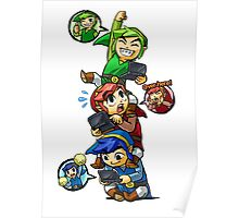Tri Force Heroes Poster
