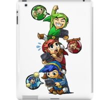 Tri Force Heroes iPad Case/Skin