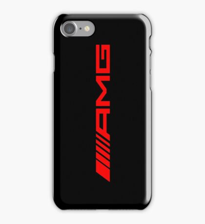 AMG RED iPhone Case/Skin
