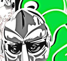 MF Doom Sticker