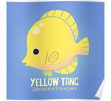 Yellow Tang 2 Poster