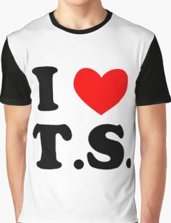 I Love T.S. Graphic T-Shirt