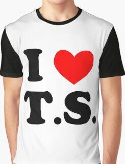 I Love T.S. Graphic T-Shirt
