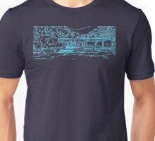 Farnsworth house mid century modern Unisex T-Shirt