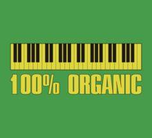 100 organic yellow Kids Tee