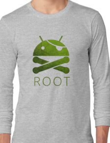 Root Android Long Sleeve T-Shirt