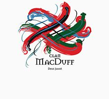Clan MacDuff  - Prefer your gift on Black/White tell us at info@tangledtartan.com  Unisex T-Shirt