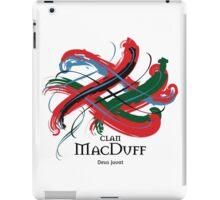Clan MacDuff  - Prefer your gift on Black/White tell us at info@tangledtartan.com  iPad Case/Skin