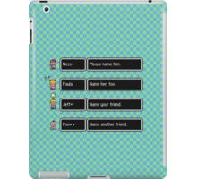 Your Name, Please iPad Case/Skin