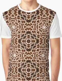 Giraffe Print Graphic T-Shirt