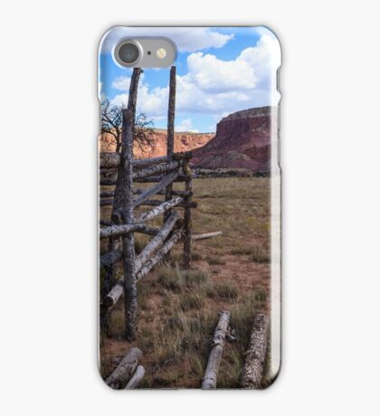 Horse Corral New Mexico iPhone Case/Skin