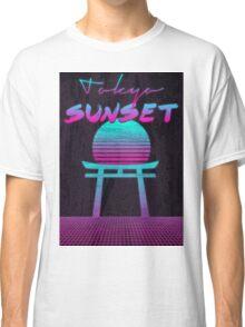 Tokyo Sunset Classic T-Shirt