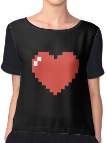Heart Chiffon Top
