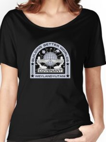 Covenant tee shirt space mission Women's Relaxed Fit T-Shirt