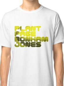 Plant Page Bonham Jones Classic T-Shirt
