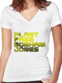 Plant Page Bonham Jones Women's Fitted V-Neck T-Shirt