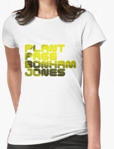 Plant Page Bonham Jones Womens Fitted T-Shirt