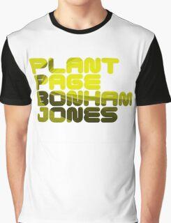 Plant Page Bonham Jones Graphic T-Shirt