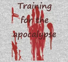 training for the apocalypse workout Tee by MurderestART