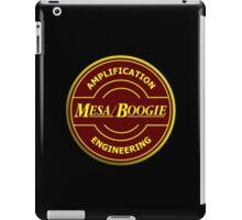 Mesa Boogie red yellow iPad Case/Skin