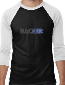 Hacker Men's Baseball ¾ T-Shirt