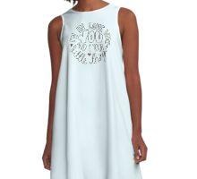 LITTLE THINGS A-Line Dress