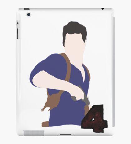Eternally wandering Nathan Drake: silhouette iPad Case/Skin