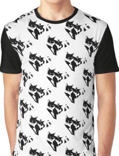 Tuxedo Cats Graphic T-Shirt