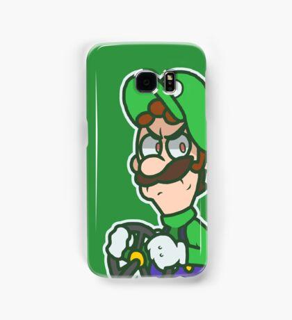 Luigi Kart 8 Samsung Galaxy Case/Skin