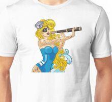 Blonde Sailor Girl Unisex T-Shirt