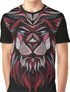 Africa Lion Graphic T-Shirt