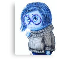 Sadness | Inside Out Canvas Print