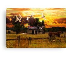Rural Migration Canvas Print