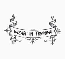 Wizard in Training Baby Tee