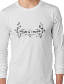 Wizard in Training Long Sleeve T-Shirt
