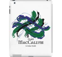 Clan MacCallum - Prefer your gift on Black/White tell us at info@tangledtartan.com  iPad Case/Skin
