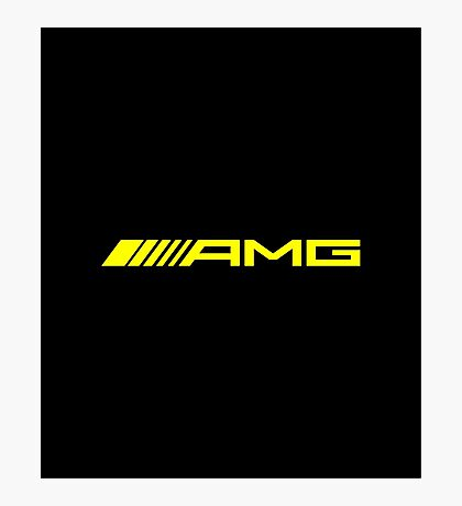 AMG 7 Photographic Print