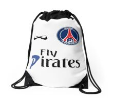 Fly Pirates II Drawstring Bag