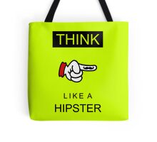 Think like a hipster VRS2 Tote Bag