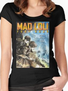 Mad Loli - Fury Road Women's Fitted Scoop T-Shirt