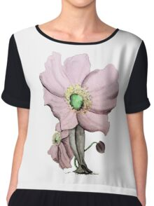 As She Blossoms Chiffon Top