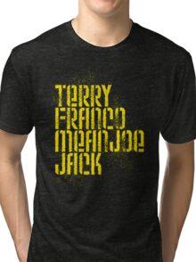 Terry Franco Mean Joe Jack / Black Tri-blend T-Shirt